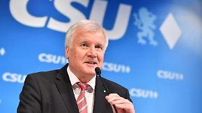 """""""Aus der Krabbelgruppe"""": Seehofer lehnt SPD-Vorschlag einer """"KoKo"""" ab"""