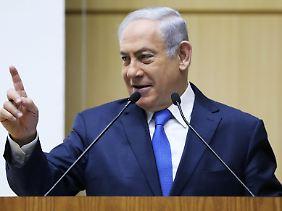 Putin ist ständig im Kontakt zu Benjamin Netanjahu.