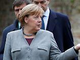 Treffen mit Sahel-Staatschefs: Merkel warnt vor Terror aus Afrika