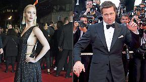 Promi-News des Tages: Brad Pitt wirft sein Auge auf Jennifer Lawrence