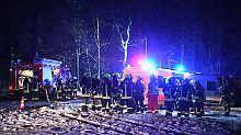 Im Anflug auf Friedrichshafen: Flugzeug verunglückt bei Ravensburg