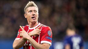 Fünf Fakten zum 17. Spieltag: Lewandowski knipst die Konkurrenz aus