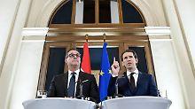 Koalition in Österreich steht: Sebastian Kurz regiert mit rechter FPÖ