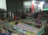 Krankenhaus evakuiert: Frau stirbt nach Seebeben vor Java