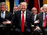 Senatoren kündigen Zustimmung an: Trump hat Mehrheit für Steuerreform
