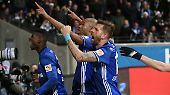 Schalkes Sportvorstand Christian Heidel nach dem 2:2 bei Eintracht Frankfurt. Seine Mannschaft hatte erneut einen Rückstand aufgeholt.