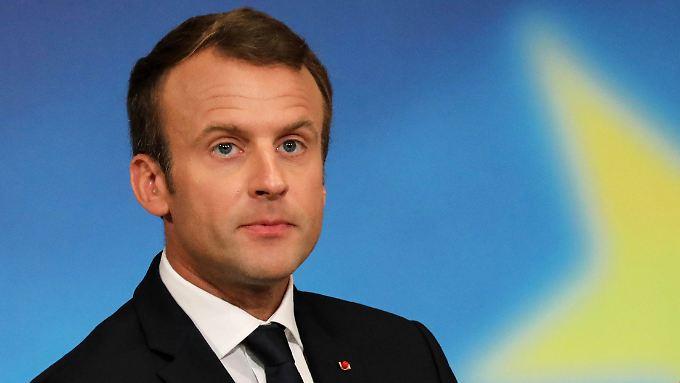 Anfang 2018 möchte Macron Initiativen ergreifen, um die Friedensgespräche in Gang zu bringen.