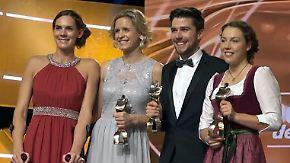 Zwei Wintersportler und zwei Beach-Girls: In Baden-Baden werden die Sportler des Jahres ausgezeichnet