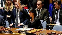 Von Vetorecht Gebrauch gemacht: USA blockieren UN-Resolution zu Jerusalem
