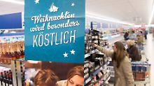 Luxusoffensive zu Weihnachten: Discounter buhlen um Festtagskunden