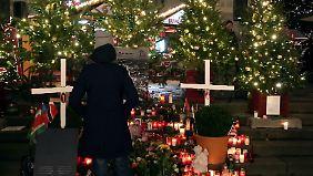 Gedenken an die Opfer am Breitscheidplatz.