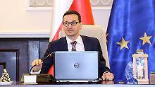 Machtprobe nach Justizreform: Polen erwartet EU-Sanktionsverfahren