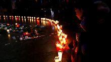 Berlin gedenkt der Opfer: Zwölf Minuten Stille am Anschlagsort