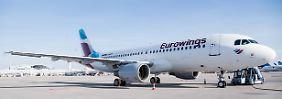 Druck im wachsenden Wettbewerb: Eurowings startet massive Rabattaktion