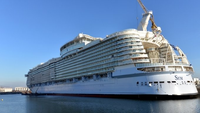 """Die """"Symphony"""" wird das neue größte Kreuzfahrtschiff der Welt werden."""