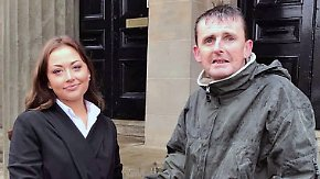 Aufpasser statt Dieb: Schottland feiert einen obdachlosen Helden