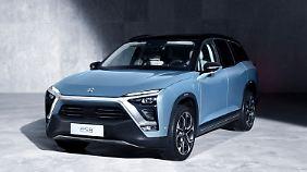 Bereits im nächsten Jahr will Nio den ES8 in China auf den Markt bringen.