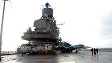 Abkommen über 49 Jahre: Russland baut Marinebasis in Syrien aus
