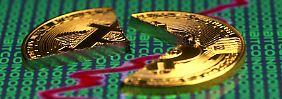 Kryptowährungen sind nichts für schwache Nerven.