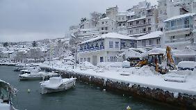 Griechenland ist schon Anfang des Jahres von einem plötzlichen Wintereinbruch überrascht worden.