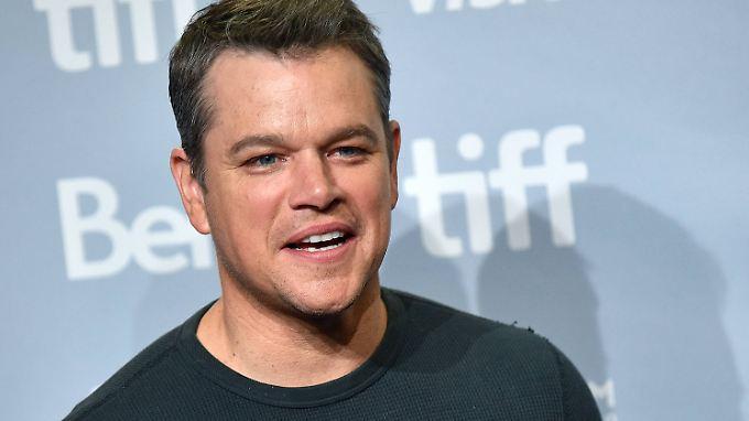 Hollywood-Star Matt Damon hat sich um Kopf und Kragen geredet.