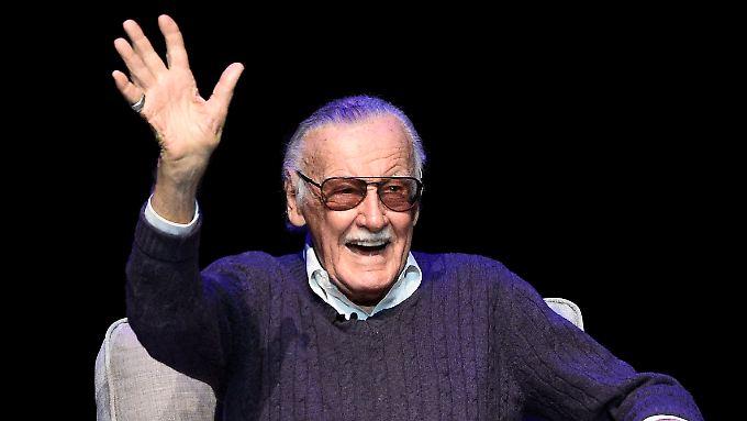 Trotz seiner 95 Jahre noch sehr aktiv: Stan Lee.