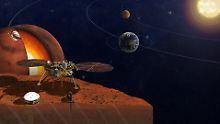 "2,5 Millionen Namen an Bord: ""InSight"" startet 2018 zum Mars"