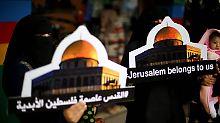 """US-Botschaft in Jerusalem: Israel erwartet """"Welle"""" weiterer Verlegungen"""