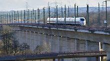 Zwischen Berlin und München: Viele Züge auf neuer ICE-Strecke unpünktlich