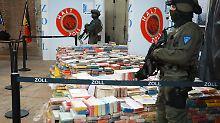 "Drogen-""Schwemme"" in 2017: Behörden sichern Rekordmengen Kokain"
