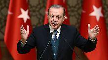 """""""Eine Million Bürger getötet"""": Erdogan sieht keine Zukunft für Assad"""