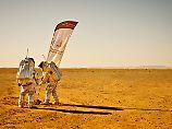 """""""Sind für jeden Fehler dankbar"""": Analog-Astronauten simulieren Marsmission"""