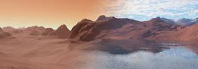Ist der Ozean versickert?: Rätsel um verschwundenes Mars-Wasser