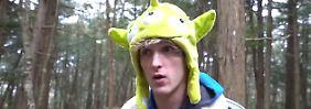 Logan Paul entschuldigt sich: Youtuber filmt eine Leiche