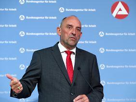 BA-Chef Detlef Scheele