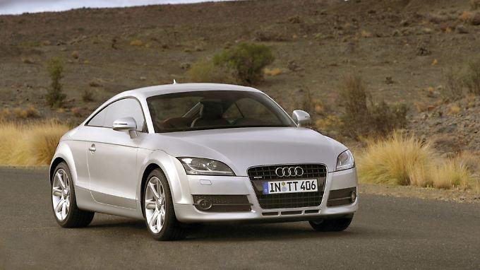 Im Preisvergleich mit einem Porsche wird der Audi TT zu einem Sportwagen der Vernunft.