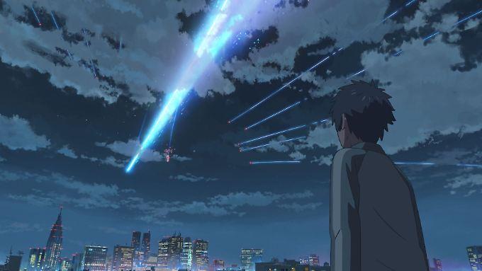 """Der japanische Animationsfilm """"Your Name"""" erzählt die zauberhafte Liebesgeschichte zweier Teenager."""