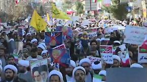 """""""Tod den Amerikanern"""": Im Iran tobt innerer Machtkampf"""