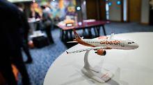 Der Tag: Air Berlin lässt Inventar versteigern