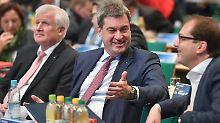 CSU-Klausur in Seeon: Ganz schön breitbeinig für sechs Prozent