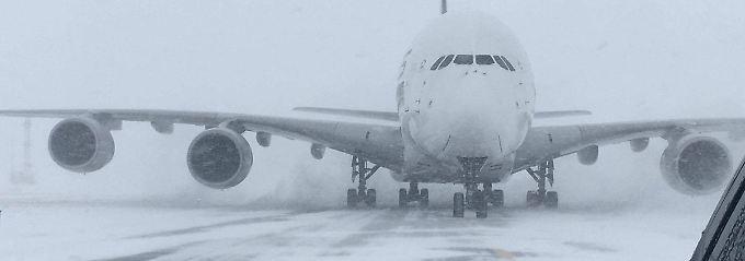 Ist seine Zeit schon abgelaufen? Der Airbus A380.