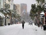 US-Ostküste versinkt im Schnee: Wintersturm bringt Strom- und Flugausfälle