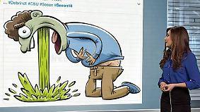 n-tv Netzreporterin: Webgemeinde bricht mit Alexander #Dobrindt