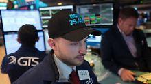 Den Sprung über die 25.000-Punkte-Marke hatte der Dow Jones am Donnerstag geschafft.