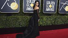 Gegen sexuelle Belästigung: Golden Globes tragen Schwarz