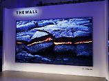 """""""The Wall"""" soll die Zukunft sein: Samsung stellt MicroLED-Fernseher vor"""