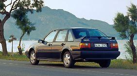 Das freche Stummelheck des Volvo 440 war sein Markenzeichen.