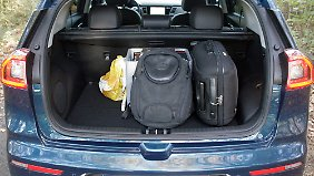 436 Liter offeriert der Kofferraum.