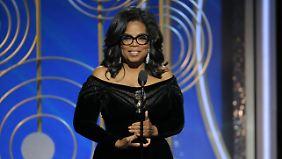 """Oprah Winfrey sagt: """"Ich schätze die Presse mehr denn je, denn sie ermöglicht es uns, die Wahrheit ans Licht zu bringen."""""""