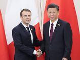 Diplomatie auf vier Beinen: Macron macht Xi ein besonderes Geschenk